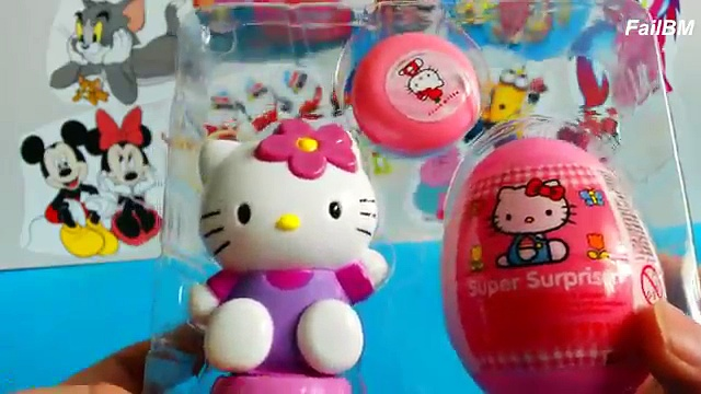 Hello Kitty Gift Pack 2016 – Unboxing Awesome Surprise Eggs and Toys – Hello Kitty Yoyo Toy Funny