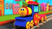 ABC La chanson des animaux de BOB | bob le train en français | Bob compilation française