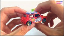 Morris Mini Vs Hino Dutro Truck   Tomica Toys Cars For Children   Kids Toys Videos HD Collection