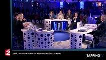 ONPC : Vanessa Burggraf se fait recadrer par Gilles Kepel avec l'aide de Laurent Ruquier (déo)