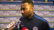 Stéphane Sessegnon après MHSC 4-0 FCGB