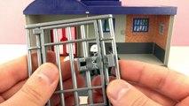 DIEB GEFASST! Playmobil Mitnehm-Polizeizentrale mit Gefängnis 5299 - Demo & Aufbau - Spiel mit mir