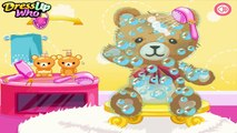 Clean Vintage Teddy Bear - Clean Teddy Games for Kids - Teddy Care Games