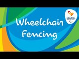Rio 2016 Paralympic Games   Wheelchair Fencing Day 6   LIVE
