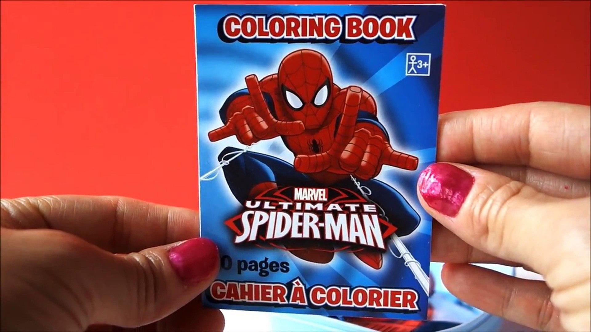 Big Surprise Egg Spiderman Unboxing Spider Man Surprise Toys
