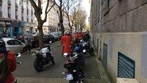 Les motards de Noël défilent malgré l'interdiction