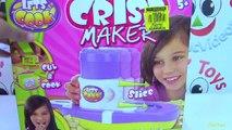 Lets Cook Crisp Maker Toy - Make Your Delicious Potato Crisps