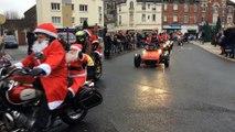 Chauny : les motards se prennent pour le Père Noël