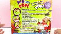 PIG GOES POP! Lustiges Spiel mit fetter Sau! Fressen bis sie platzt! Spiel mit mir Kinderspielzeuge
