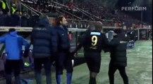Pierre Webo Goal HD - Osmanlispor 1 - 1 Galatasaray 18.12.2016