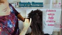 Coiffure protectrice sur cheveux frisés ou crépus avec Queen Kalicy et la gamme ACTIGLOSS NOURISH | coupede-cheveux.com