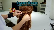 Coiffure mariage 2016 | coiffure mariage cheveux bouclés | coiffure mariage facile | coupede-cheveux.com