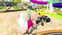 Disney Mickey Mouse, Hulk, Spider man And Superhero Funny Ride | Finger Family Nursery Rhymes