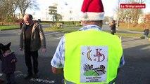 Landerneau. Des motards déguisés en Père Noël