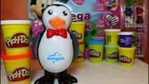 Play Doh Happy Feet Penguins Dance With Music & How to Make One