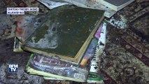 Aisne: les images de la salle de prière musulmane incendiée