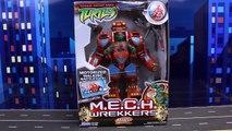 Teenage Mutant Ninja Turtles Mikey Mech Wrekkers Giant Robot Goes Crazy Attacks Each Ninja Turtle