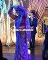 Farhan Saeed dancing along with his khala at the Urwa Hocane & Farhan Saeed wedding reception in Lahore
