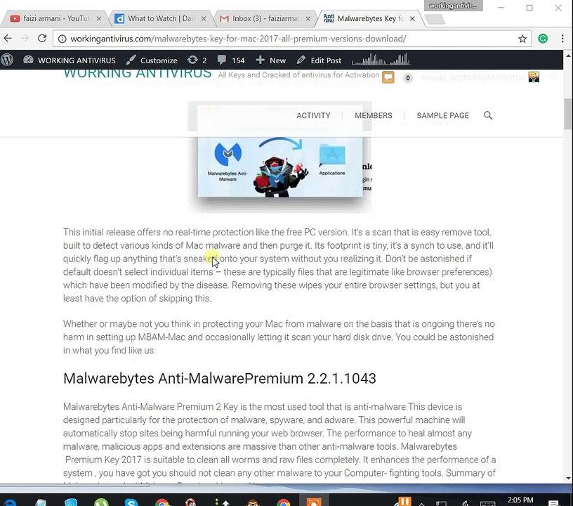malwarebytes activate license key android