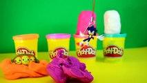 Play-doh surprise eggs Kinder toys Toy story Monsters university Sonic playdough FUN FUN FUN