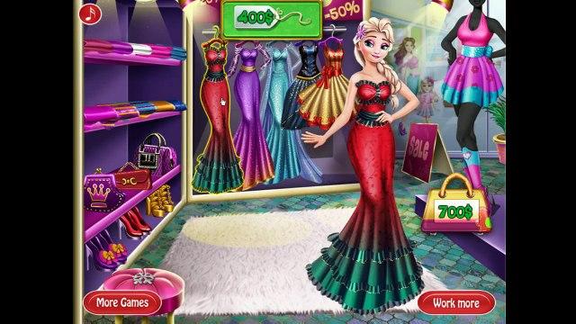 Disney Frozen Games - Princess Elsa Real Life Shopping - Games For Girls