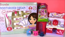 DIY SHOPKINS Hand Cream! Kiss Naturals! Chocolate Scented Kooky Cookie Lotion! Shopkins Magnets!