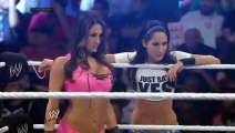 720pHD WWE Smackdown The Bella Twins vs Natalya & Summer Rae 01