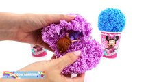 Minnie Mouse Foam Clay & Play Doh Ice Cream Cups Sofia Lalaloopsy RainbowLearning (NEW)