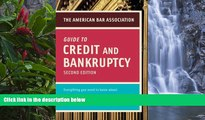 Online American Bar Association American Bar Association Guide to Credit and Bankruptcy, Second