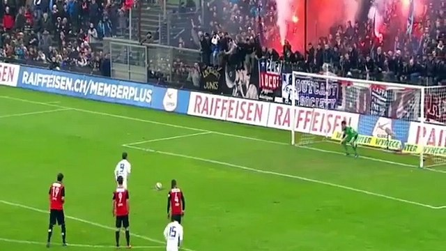 Video : Amazing triple Penalty save