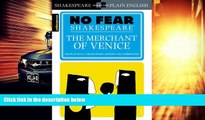 Best Price The Merchant of Venice (SparkNotes No Fear Shakespeare) SparkNotes Editors PDF