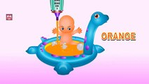 Learn Colors Baby Doll Bath Time - Fun Learning Injection Baby Toy Videos - Colours for Toddlers