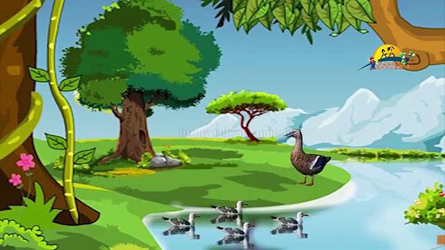 Five Little Ducks nursery children rhyme   Five little ducks kids song lyrics