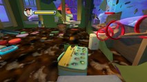 Toy Story 3 Svenska Filmen Spel Disney BUZZ,JESSIE,WOODY Bonnies Hus Spel veckade game movie
