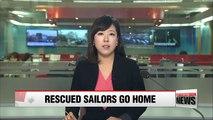 S. Korea repatriates rescued N. Korean sailors and boats through NLL