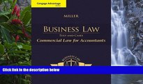 Buy Roger LeRoy Miller Cengage Advantage Books: Business Law: Text   Cases - Commercial Law for