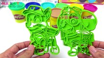 Learn Colors For Kids With Pj Masks & Paw Patrol Play Doh Toys | Colors For Toddler To Learn