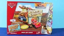 Cars Race Off Ridge Radiator Springs Classic Disney Cars 1 Lightning McQueen, Guido, Chick Hicks kC