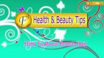 How To Boost Brown hair II बालों को बनाये शानदार II  By Satvinder Kaur