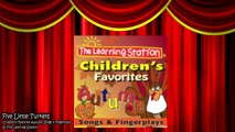 Thanksgiving Songs for Children - FIVE LITTLE TURKEYS - Turkey Kids Songs by The Learning Station