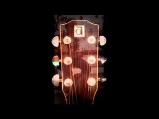 Ayers custom acoustic guitar - song title ( memories )