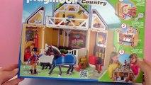 playmobil cheval en francais - Ecurie Playmobil français – Playmobil Country avec des chevaux