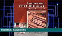 Psychology CLEP Practice Test