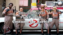PLAY DOH Ghostbusters 2016 Inspired Costume for Barbie - Playdoh clay modeling Tutorial