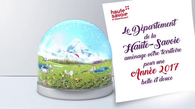 Voeux 2017 du Département de la Haute-Savoie