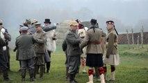 Comines-Warneton: reconstitution de la fraternisation en 1914 entre Allemands et Anglais