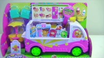 Shopkins Scoops Ice Cream Truck Shopkins Blind Bags|Baskets - Kids Toys