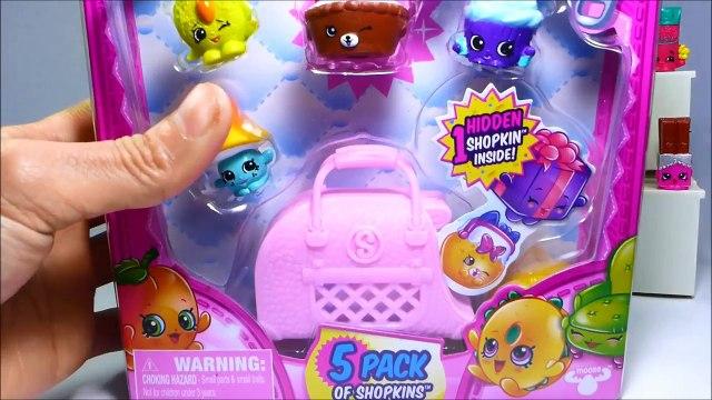 Shopkins Season 4 - 5 Pack Unboxing - Limited Edition Hunt - Play-Doh Shopkins Heart Eggs Surprise