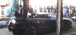 Une Lamborghini Murciélago détruite par le gouvernement taïwanais pour punir son propriétaire !