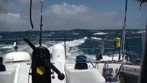 J43 : Des pointes à 45 noeuds pour Romain Attanasio / Vendée Globe